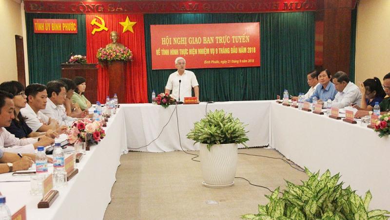 9 tháng, kinh tế Bình Phước tăng trưởng 7%